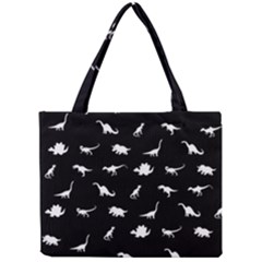 Dinosaurs Pattern Mini Tote Bag by Valentinaart