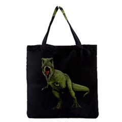 Dinosaurs T Rex Grocery Tote Bag by Valentinaart