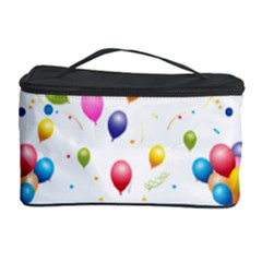 Balloons   Cosmetic Storage Case by Valentinaart