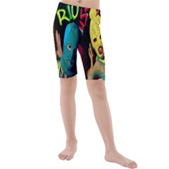 Pussy Riot Kids  Mid Length Swim Shorts by Valentinaart