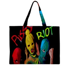Pussy Riot Zipper Mini Tote Bag by Valentinaart