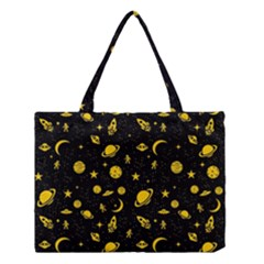 Space Pattern Medium Tote Bag by ValentinaDesign
