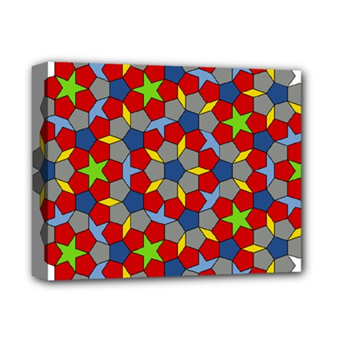 Penrose Tiling Deluxe Canvas 14  X 11