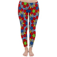 Penrose Tiling Classic Winter Leggings by Nexatart