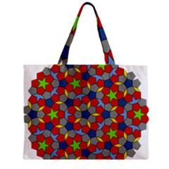 Penrose Tiling Zipper Mini Tote Bag