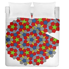 Penrose Tiling Duvet Cover Double Side (queen Size)