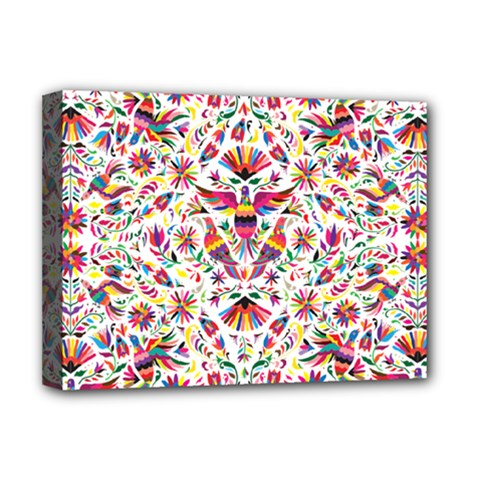 Otomi Vector Patterns On Behance Deluxe Canvas 16  X 12