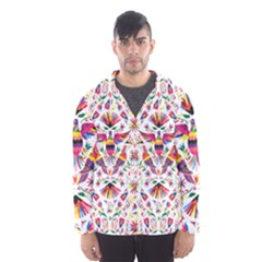 Otomi Vector Patterns On Behance Hooded Wind Breaker (men)