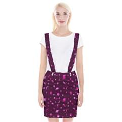 Space Pattern Braces Suspender Skirt by ValentinaDesign