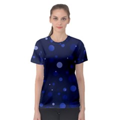 Decorative Dots Pattern Women s Sport Mesh Tee by ValentinaDesign