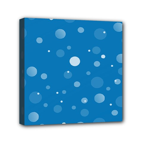 Decorative Dots Pattern Mini Canvas 6  X 6  by ValentinaDesign