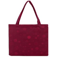 Decorative Dots Pattern Mini Tote Bag by ValentinaDesign