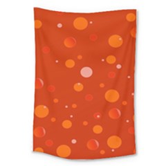 Decorative Dots Pattern Large Tapestry by ValentinaDesign
