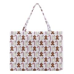 Christmas Trio Pattern Medium Tote Bag by Nexatart