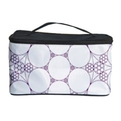 Density Multi Dimensional Gravity Analogy Fractal Circles Cosmetic Storage Case by Nexatart