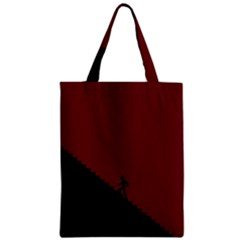Walking Stairs Steps Person Step Zipper Classic Tote Bag by Nexatart