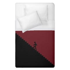 Walking Stairs Steps Person Step Duvet Cover (single Size) by Nexatart
