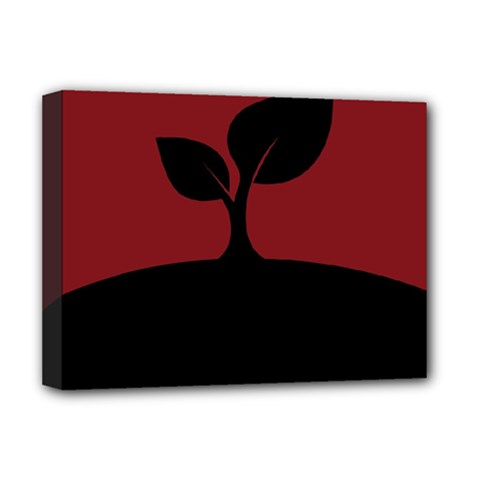 Plant Last Plant Red Nature Last Deluxe Canvas 16  X 12