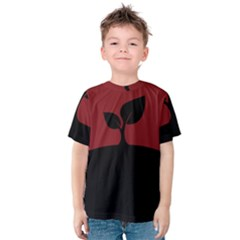 Plant Last Plant Red Nature Last Kids  Cotton Tee