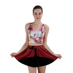 Plant Last Plant Red Nature Last Mini Skirt by Nexatart