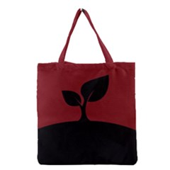 Plant Last Plant Red Nature Last Grocery Tote Bag by Nexatart