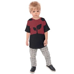 Plant Last Plant Red Nature Last Kids  Raglan Tee