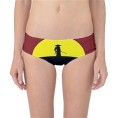 Samurai Warrior Japanese Sword Classic Bikini Bottoms