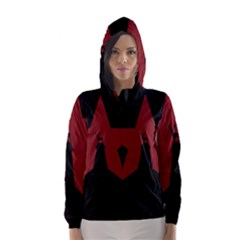 Buck Dear Animal Character Nature Hooded Wind Breaker (women)