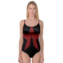 Buck Dear Animal Character Nature Camisole Leotard