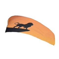 Lion Sunset Wildlife Animals King Stretchable Headband