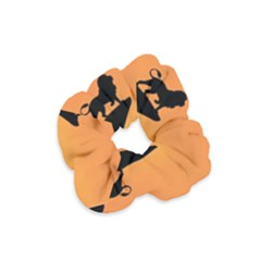 Lion Sunset Wildlife Animals King Velvet Scrunchie