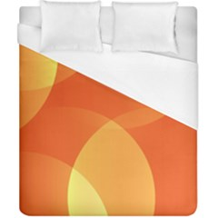 Abstract Orange Yellow Red Color Duvet Cover (california King Size)