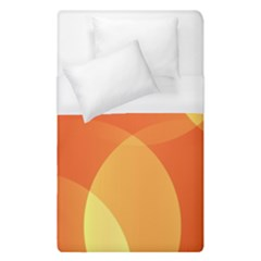 Abstract Orange Yellow Red Color Duvet Cover (single Size)
