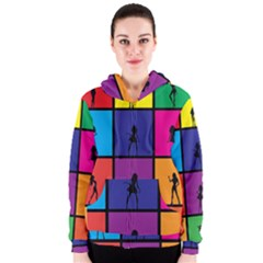 Girls Fashion Fashion Girl Young Women s Zipper Hoodie