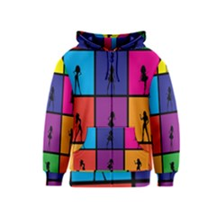 Girls Fashion Fashion Girl Young Kids  Zipper Hoodie