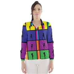 Girls Fashion Fashion Girl Young Wind Breaker (women)