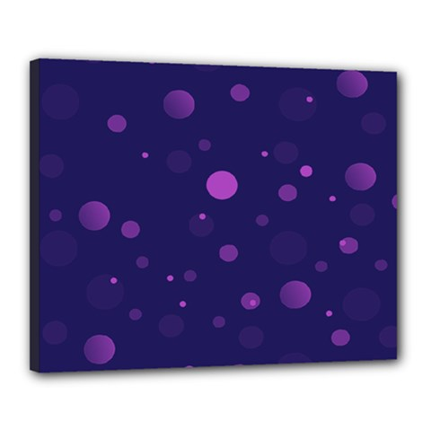Decorative Dots Pattern Canvas 20  X 16  by ValentinaDesign