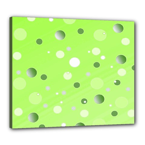 Decorative Dots Pattern Canvas 24  X 20  by ValentinaDesign