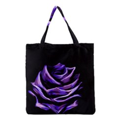 Rose Flower Design Nature Blossom Grocery Tote Bag by Nexatart