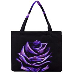 Rose Flower Design Nature Blossom Mini Tote Bag