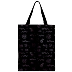Aztecs Pattern Zipper Classic Tote Bag by ValentinaDesign
