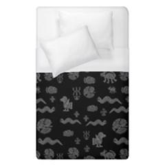 Aztecs Pattern Duvet Cover (single Size) by ValentinaDesign