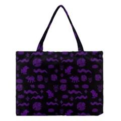 Aztecs Pattern Medium Tote Bag by ValentinaDesign