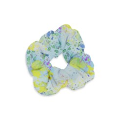 Watercolors Splashes              Velvet Scrunchie by LalyLauraFLM