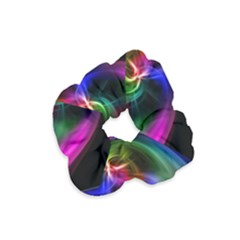 Abstract Art Color Design Lines Velvet Scrunchie