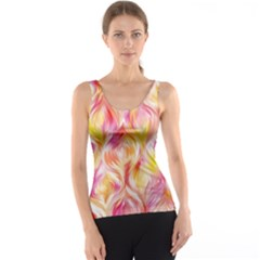 Pretty Painted Pattern Pastel Tank Top