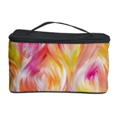 Pretty Painted Pattern Pastel Cosmetic Storage Case