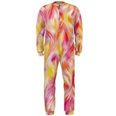 Pretty Painted Pattern Pastel Onepiece Jumpsuit (men)