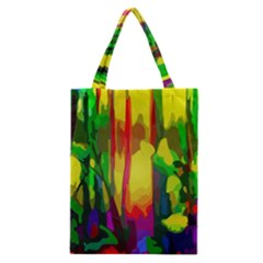 Abstract Vibrant Colour Botany Classic Tote Bag by Nexatart