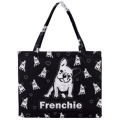 Frenchie Mini Tote Bag by Valentinaart